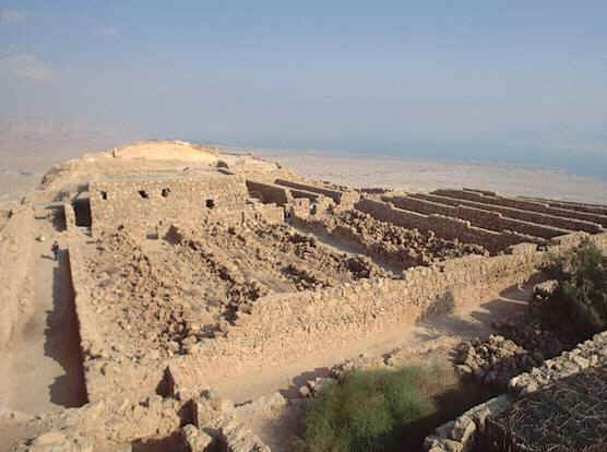 Rovine di Masada