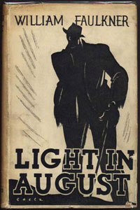 William Faulkner. Light in August. London: Chatto and Windus, 1933.
