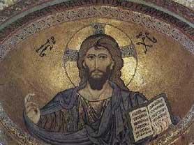 Pantokrator, Cefalù, XII secolo.